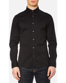 Men's Slim Cotton/nylon Stretch Shirt