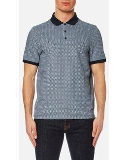 Men's Grid Birdseye Polo Shirt