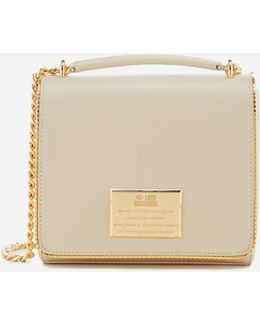 Gold Plate Small Cross Body Bag