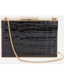 Scarlett Box Clutch Bag