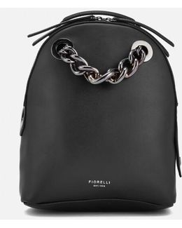 Anouk Small Backpack With Chain
