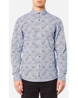 Slim Charles Print Shirt