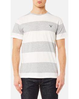 Contrast Barstripe Short Sleeve T-shirt