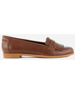 Andora Crush Leather Loafers