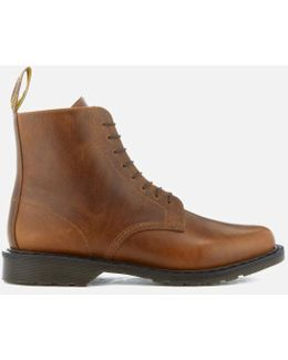 Oscar Eldritch Leather Lace Up Boots