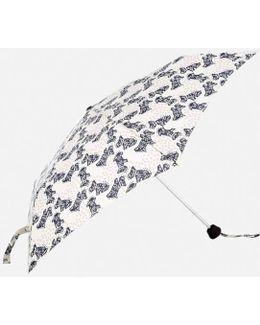 Folk Dog Mini Telescopic Umbrella
