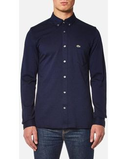 Men's Long Sleeve Jersey Shirt