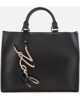 K/metal Signature Shopper Bag