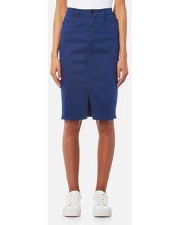Rome High Waist Pencil Skirt