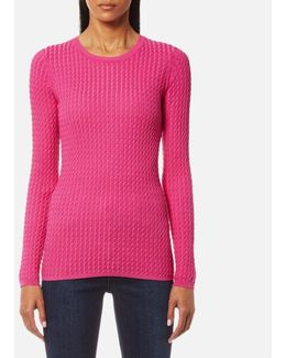 Gena Cable Crew Neck Jumper