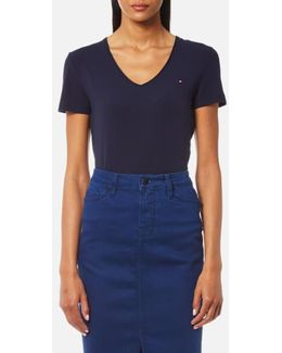 Lizzy V Neck Short Sleeve Top