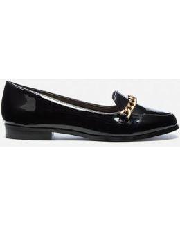 Michalea Chain Front Flat Shoes