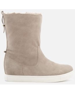 Scorpio Suede Faux Fur Lined Boots
