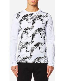 Tiger Logo Long Sleeve T-shirt