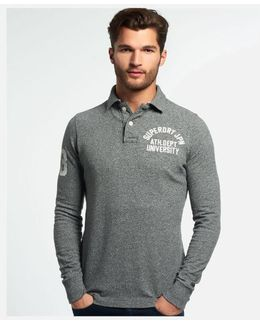 Super State Long Sleeve Polo Shirt