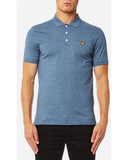 3 Colour Mouline Polo Shirt