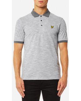 Oxford Slub Polo Shirt