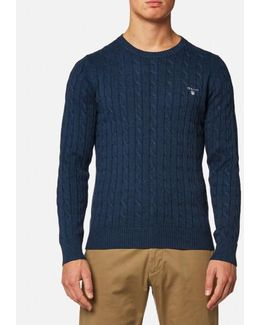 Cotton Cable Knitted Jumper