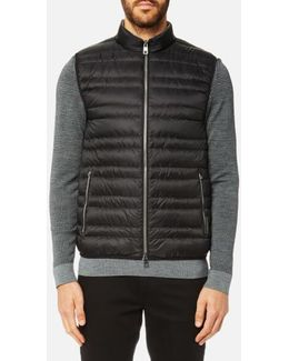 Channel Quilted Vest