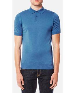 Payton 30 Gauge Merino Short Sleeve Polo Shirt