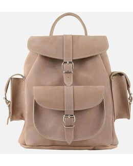 Medium Nubuck Backpack
