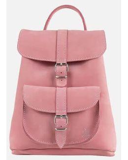 Anna Small Nubuck Backpack