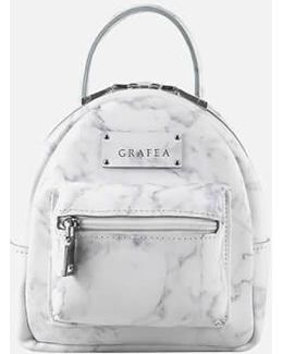 Mini Zippy Marble Backpack