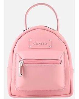 Mini Zippy Pink Backpack