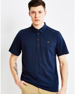 Vintage Polo Shirt Navy