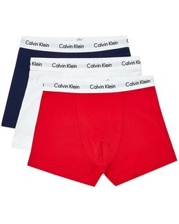 Cotton Stretch 3 Pack Trunk Multi