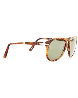 Foldable Crystal Lens Sunglasses Po0714 Brown