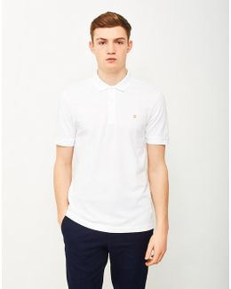 Blaney Short Sleeve Polo Shirt White