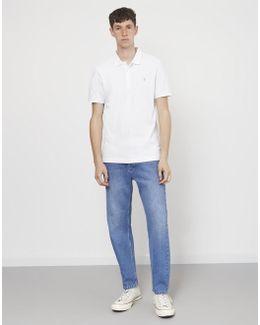 Blaney Short Sleeve Polo Shirt White