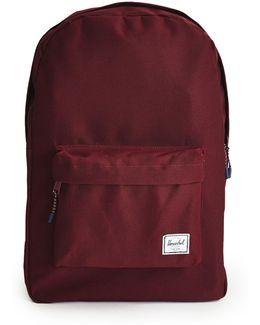 Classic Backpack Burgundy