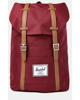 Retreat Backpack Burgundy