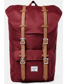 Little America Backpack Burgundy