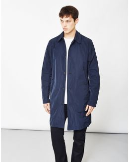 James Trench Premium Micro Stretch Blue