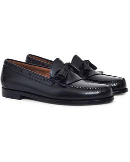 Weejuns Tassle Loafers Black