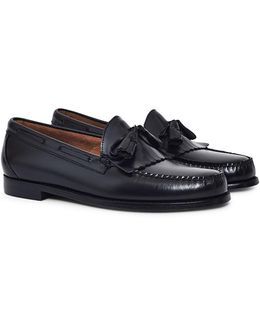 Weejuns Tassle Loafers Black