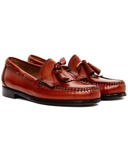 Weejuns Tassle Loafers Tan