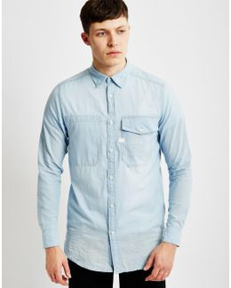 Landoh Long Shirt Long Sleeve Blue