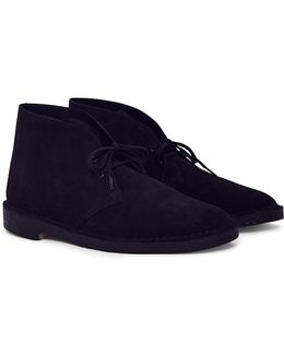 Suede Desert Boot Black