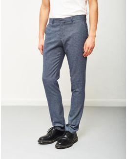 Zero Pattern Trouser Navy