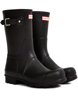Original Short Rain Boot Black