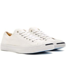 Jack Purcell Canvas Trainer White