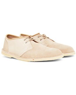 Jink Suede Shoe Off White