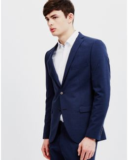 Mylogi Navy Mix Blazer