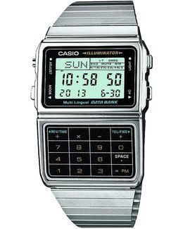 Digital Dbc-611e-1ef Watch Silver