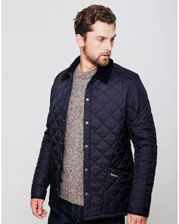 Heritage Liddesdale Quilted Jacket Navy