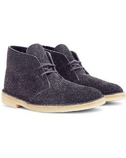 Lined Desert Boot Grey